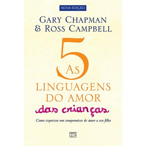 As 5 Linguagens do Amor das Crianças (Gary Chapman)