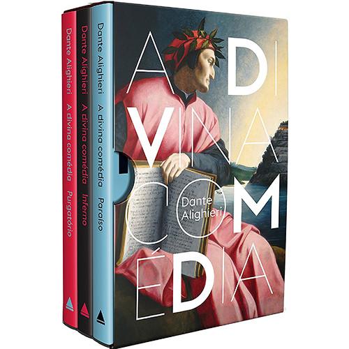 Box A Divina Comédia - Capa Dura - 3 Livros (Dante Alighieri)
