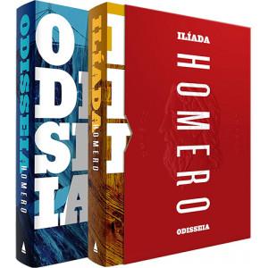 Box Odisseia e Ilíada (Homero)