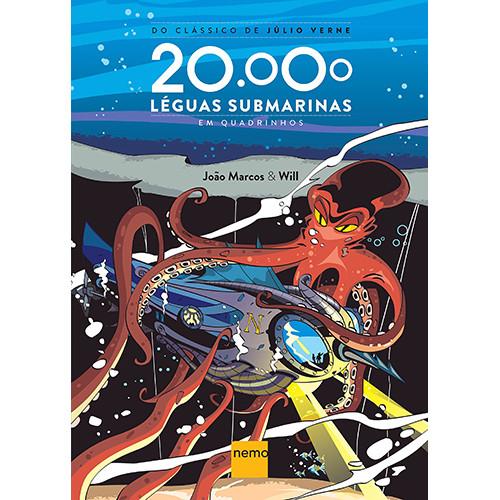 20.000 Léguas Submarinas em Quadrinhos (Júlio Verne / João Marcos / Will)