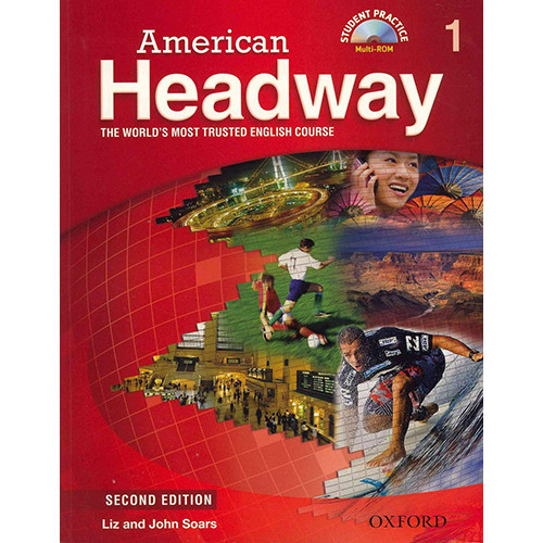American Headway Level 1 - Second Edition - Student Book with Multi-ROM (John Soars / Liz Soars)