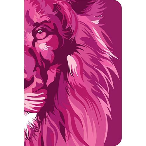 Bíblia Lion Colors - Capa Dura -  NVT - Pink