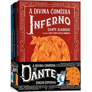 Box A Divina Comédia - Brochura - 3 Livros (Dante Alighieri)