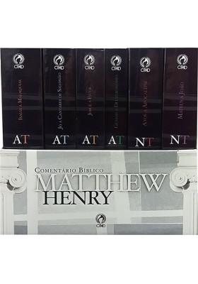 Comentário Bíblico Matthew Henry - Obra Completa - 6 Volumes (Matthew Henry)