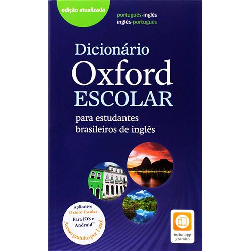 Dicionário Oxford Escolar Com App Gratuito Por 1 Ano