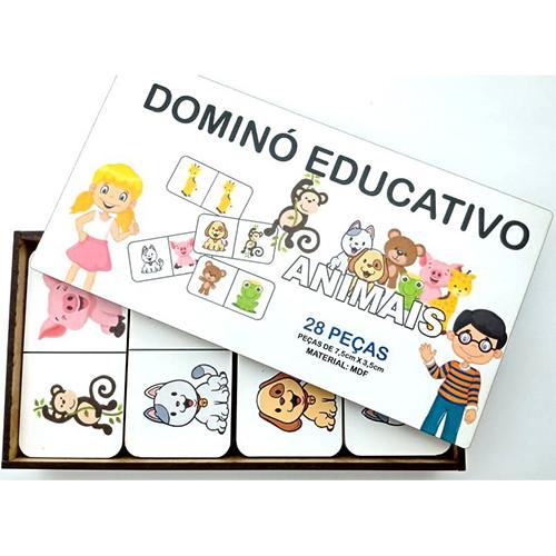 Dominó Educativo - Animais
