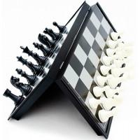 Jogo Tabuleiro 3 em 1 - Xadrez, Damas e Gamão