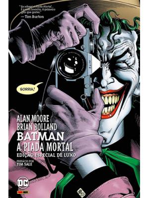 Batman: A Piada Mortal - Capa Dura (Alan Moore / Brian Bolland)