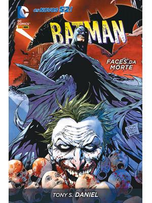 Batman: Faces da Morte - Capa Dura (Tony S. Daniel)