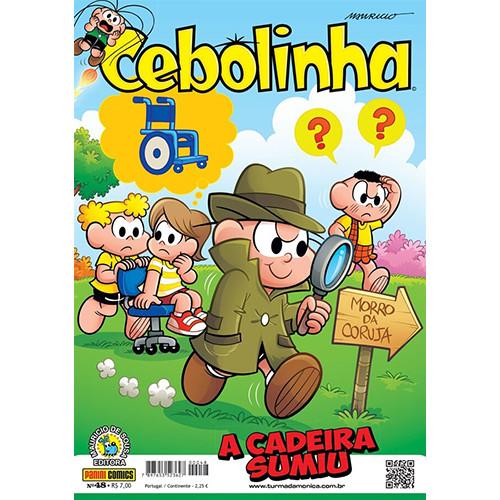 Cebolinha - No. 48: A Cadeira Sumiu