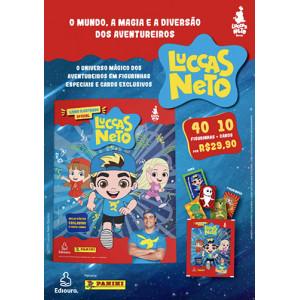 Kit Cromos e Cards Luccas Neto - 40 Figurinhas + 10 Cards (Luccas Neto)
