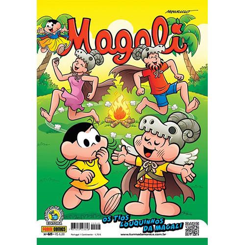 Magali - No. 48: Os Tios Louquinhos da Magali