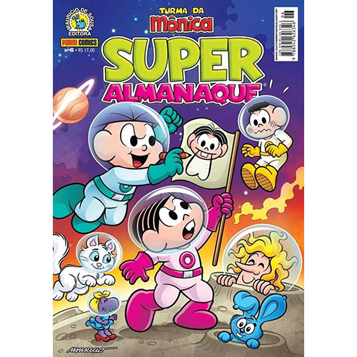 Super Almanaque da Turma da Mônica - Vol. 6