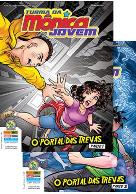 Turma da Mônica Jovem - Série 2 - No. 14 e 15: O Portal das Trevas - Parte 1 e 2