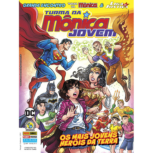 Turma da Mônica Jovem - Série 2 - No. 26: Os Mais Jovens Heróis Da Terra