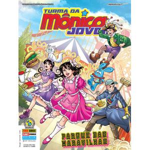 Turma da Mônica Jovem - Série 2 - No. 47: Parque das Maravilhas