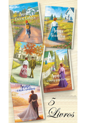 Combo Anne de Green Gables - 5 Livros (Lucy Maud Montgomery)