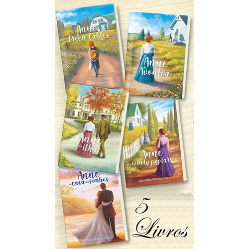 Combo Anne de Green Gables - 5 Livros