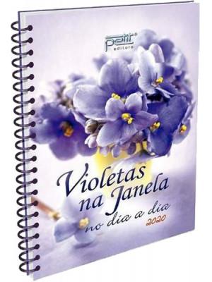 Violetas na Janela no Dia a Dia 2020 - Espiral