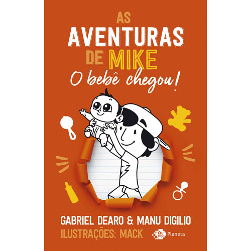 As Aventuras de Mike - Vol. 2: O Bebê Chegou! (Gabriel Dearo / Manu Digilio)