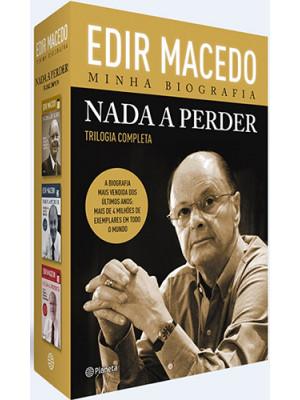 Box Nada A Perder: Trilogia Completa (Edir Macedo)