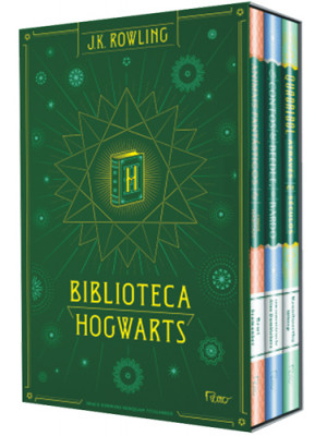 Box Biblioteca Hogwarts (J.K. Rowling)