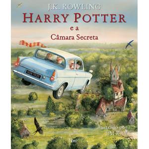 Harry Potter - Vol. 2: A Câmara Secreta - Edição Ilustrada (J. K. Rowling)