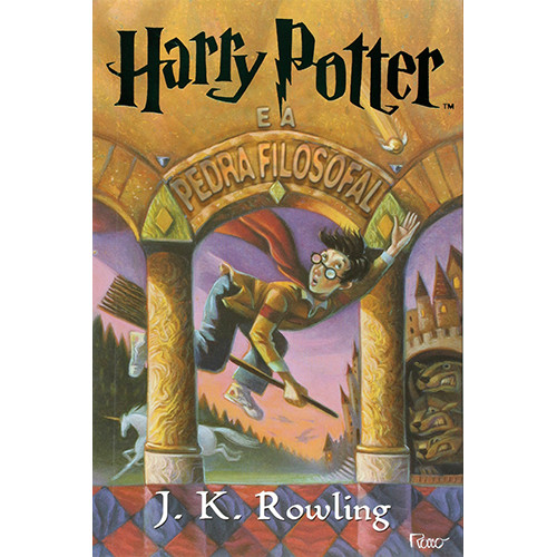 Harry Potter - Vol. 1: A Pedra Filosofal (J. K. Rowling)