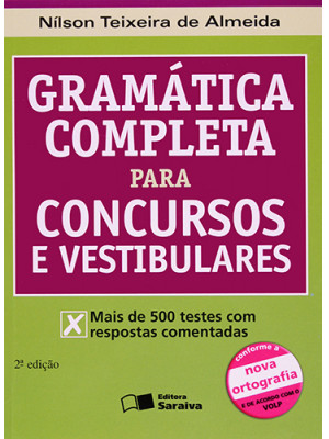 Gramática Completa Para Concursos e Vestibulares (Nílson Teixeira de Almeida)
