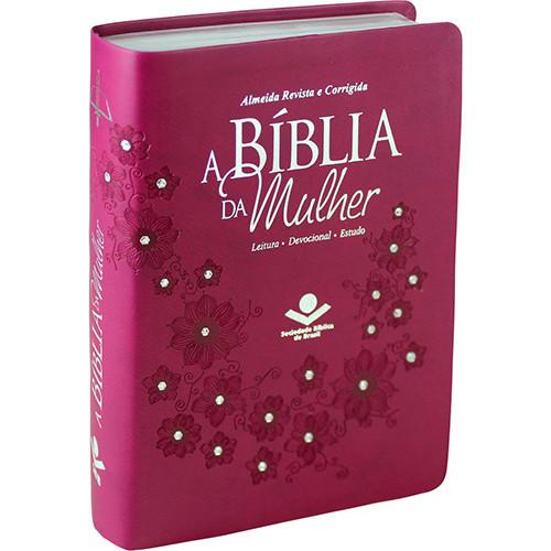 Bíblia da Mulher - Letra Normal - ARC – Vinho