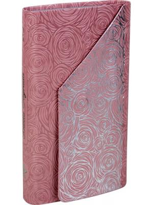 Bíblia Sagrada Carteira - Luxo - RA - Rosa Flores