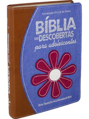 Bíblia das Descobertas Para Adolescentes - Flor - NTLH
