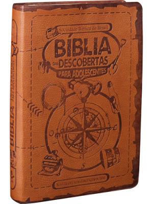 Bíblia das Descobertas Para Adolescentes - Marrom - NTLH