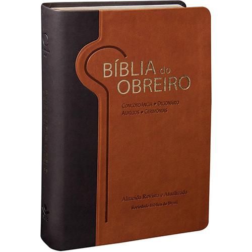 Bíblia do Obreiro - Letra Grande - ARA - Marrom (João Ferreira de Almeida)