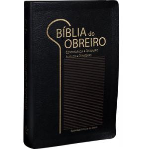 Bíblia do Obreiro - Letra Grande - ARA – Preta (João Ferreira de Almeida)