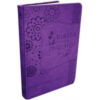 Bíblia da Mulher de Fé - NVI - Roxa (Sheila Walsh)