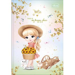 Caderno Brochura 1/4 - 80 Folhas - Capa Dura - Jolie 2