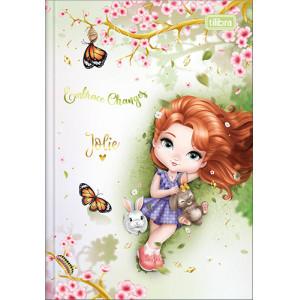 Caderno Brochura 1/4 - 80 Folhas - Capa Dura - Jolie 3