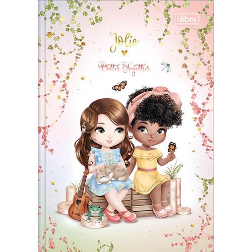 Caderno Brochura 1/4 - 80 Folhas - Capa Dura - Jolie 4