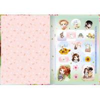 Caderno Brochura 1/4 - 80 Folhas - Capa Dura - Jolie 1