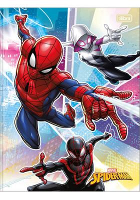 Caderno Bruchura 1/4 - 80 Folhas - Capa Dura - Spider-Man 1