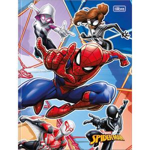Caderno Bruchura 1/4 - 80 Folhas - Capa Dura - Spider-Man 2