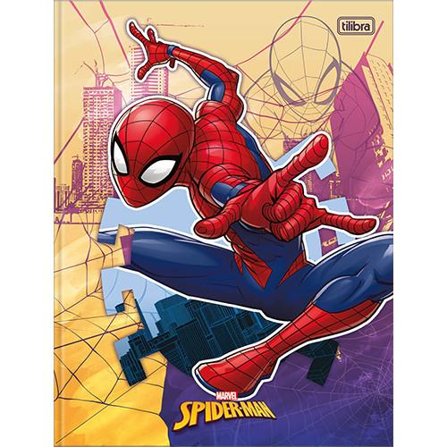 Caderno Bruchura 1/4 - 80 Folhas - Capa Dura - Spider-Man 3