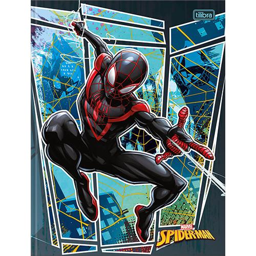 Caderno Bruchura 1/4 - 80 Folhas - Capa Dura - Spider-Man 4