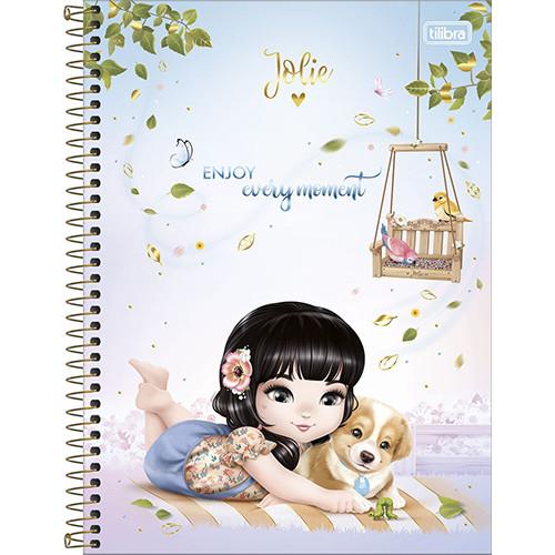 Caderno Universitário - 10 Matérias - Jolie 1
