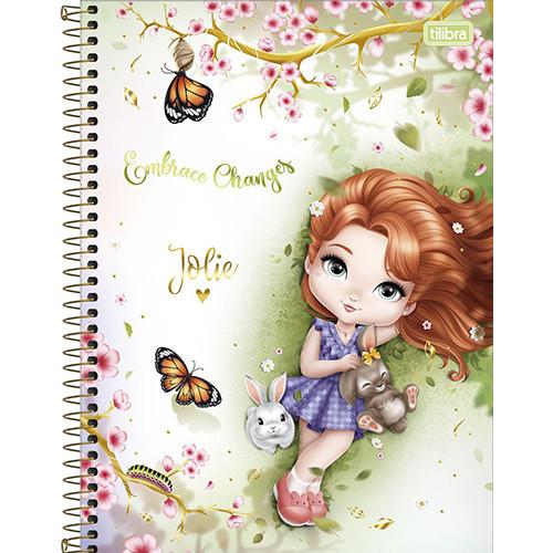 Caderno Universitário - 10 Matérias - Jolie 3