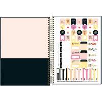 Caderno Universitário - 10 Matérias - Le Vanille 1