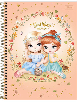 Caderno Universitário - 12 Matérias - Jolie 4