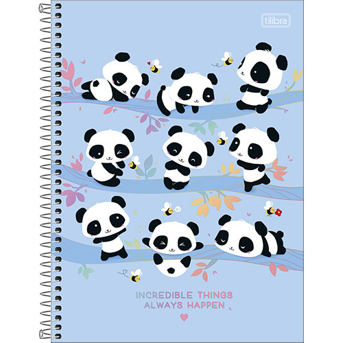 Caderno Universitário - 10 Matérias - Lovely Friend 2