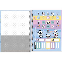 Caderno Universitário - 10 Matérias - Lovely Friend 1